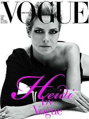 Heidi Klum Vogue Magazine by Biilboard Hot 100