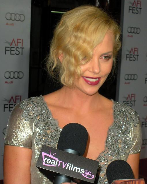 Charlize Theron, The Road Screening, AFI LA 2009