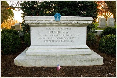 James Buchanan Grave / The Peace Hat