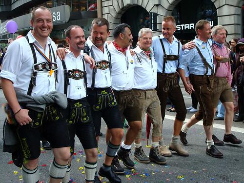 Parada Gay em Zurique, na Suíça, em 2009