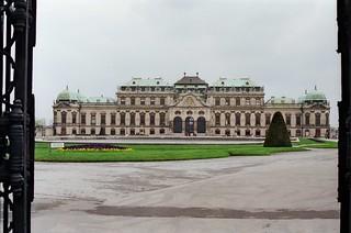 Upper Belvedere Palace, Vienna, Austria 1987