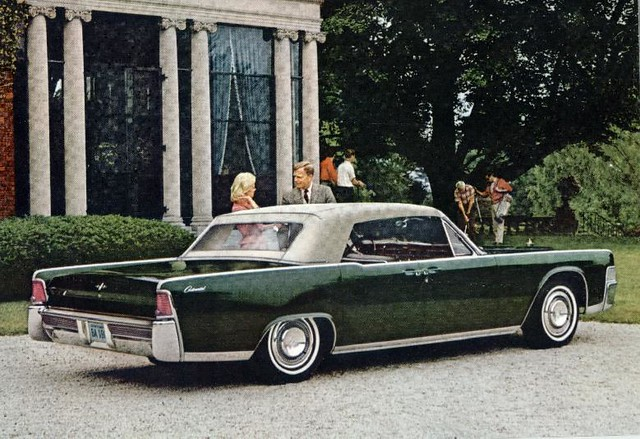 1965 lincoln continental convertible a photo on flickriver. Black Bedroom Furniture Sets. Home Design Ideas