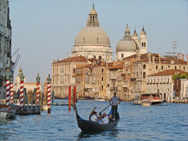 Le Grand Canal au crépuscule (Venise)
