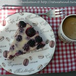 Buttermilch-Brombeer-Tarte