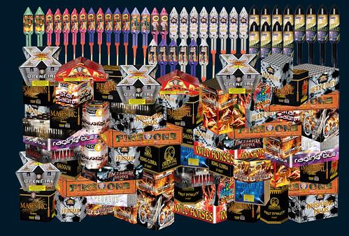 Ultimate Bonfire Firework Display Pack - Epic Fireworks
