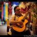 Street musician, Isla Mujeres