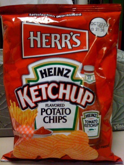 Herr's Heinz Ketchup chips | Flickr - Photo Sharing!