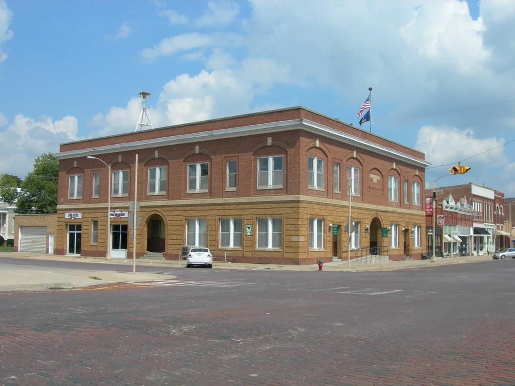 Seneca City Hall   Seneca, Kansas Constructed and designed b