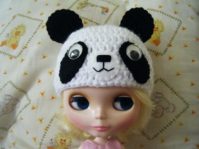 custom panda hat