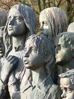 Lidice Memorial - Memorial to Child Victims of War - By Marie Uchytilová - Near Prague, Czech Republic - 01