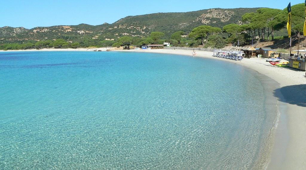 Palombaggia пляж