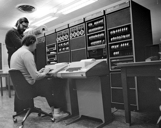DEC PDP-11 Running Unix