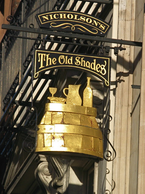 The Old Shades, Whitehall