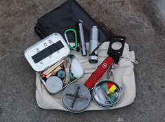 E.D.C -- Photo as seen on the Photo page of Survivalist-Supplies.com. A great site for survival supplies, information and on-line articles pertaining to wilderness survival.