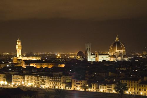 Firenze: vista da Piazzale Michelangelo