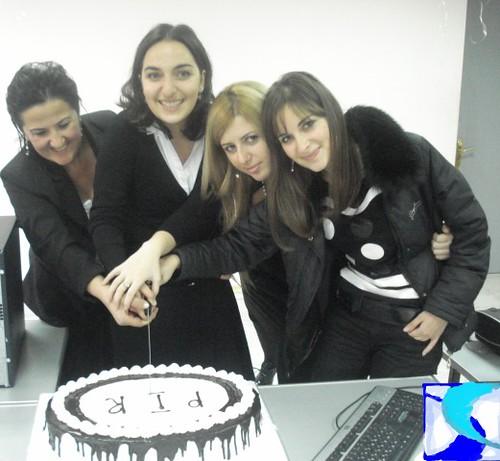 PR School - ჩვენი ტორტი