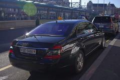 mercedes-benz w212(0.0), police car(0.0), automobile(1.0), automotive exterior(1.0), executive car(1.0), vehicle(1.0), mercedes-benz w221(1.0), mercedes-benz(1.0), mid-size car(1.0), compact car(1.0), sedan(1.0), land vehicle(1.0), luxury vehicle(1.0), vehicle registration plate(1.0),