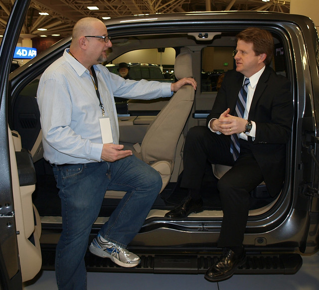 My interviewing Eric Peterson of Ford
