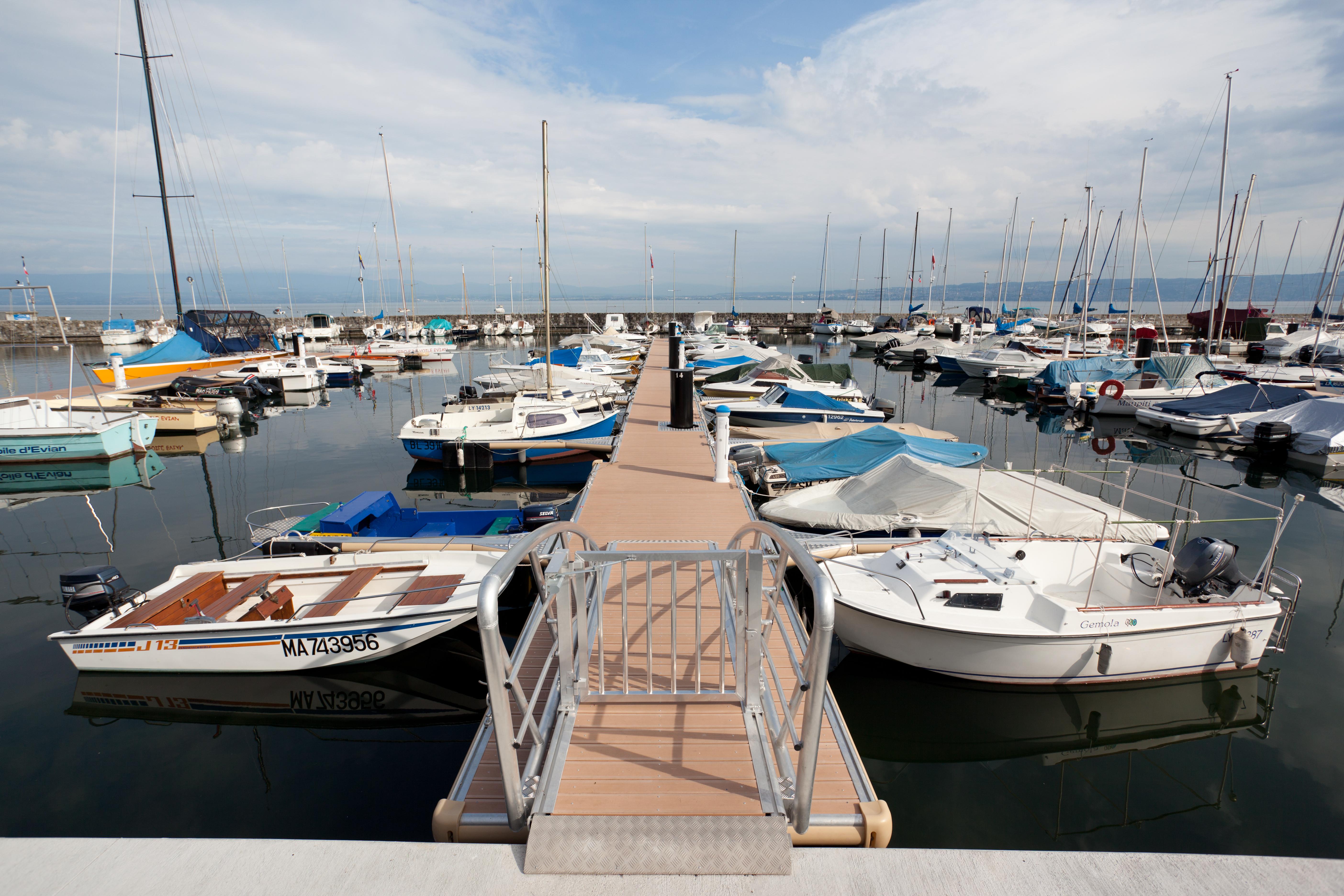 Port de plaisance - Accès ponton
