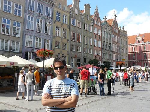 En Gdansk (Polonia) en el verano de 2007
