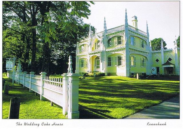 Wedding Cake House Maine Postcard Available The Historic Flickr