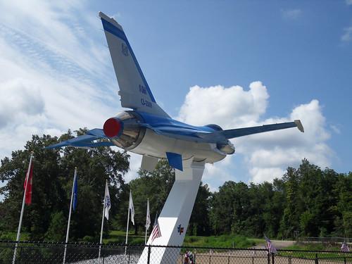 F16 Static Display / Highland Home, Alabama