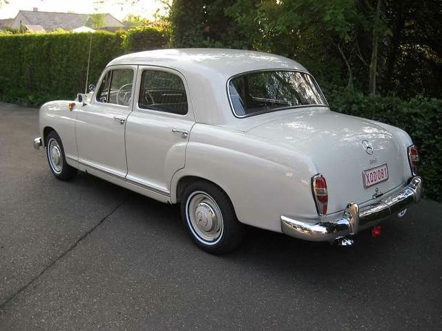 Mercedes ponton for sale uk for Mercedes benz 180d for sale