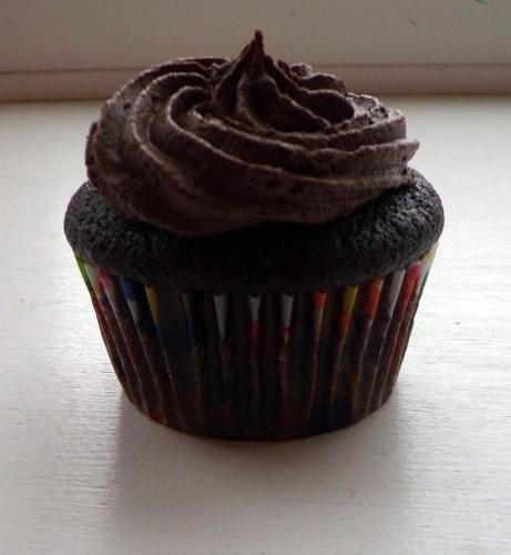 KAF Chocolate Cupcake w/ Chocolate Frosting