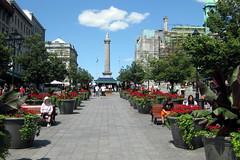 Montréal - Vieux Montréal: Place Jacques Cartier