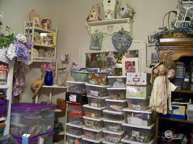 Craft Room Organizing 500 x 375