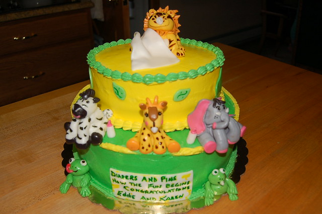 Jungle Theme Cakes For Baby Shower Jungle Theme Cake Shower