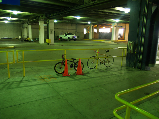 """<strong>Bike parking at Mall of America</strong><br />(c) Steven Vance 