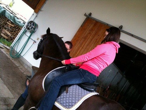 @mrsfelsenheimer auf dem Pferd