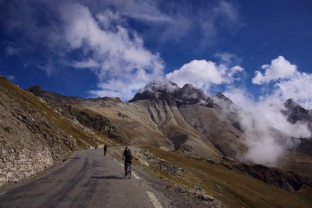 Road to Col du Galibier