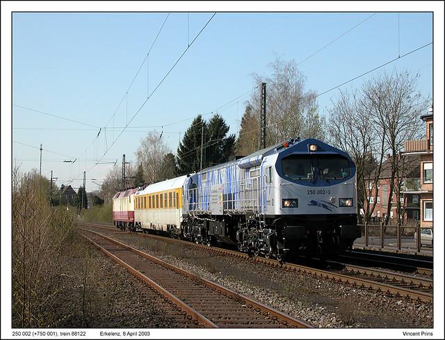 250 002+752 001 - Erkelenz - 88122 (08-04-2003) by Vincent Prins