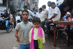 Marziya and The Little Man of Bandra by firoze shakir photographerno1