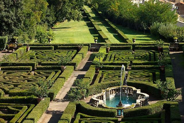 Ruspoli's Castle garden