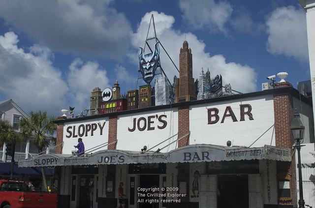 The famous Sloppy Joe's