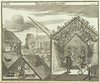 Sukkot, 1724, from Juedisches Ceremoniel by Center for Jewish History, NYC