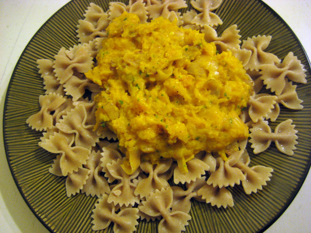 Pasta with Butternut Parmesan Sauce | Flickr - Photo Sharing!