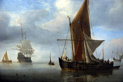 sailboat, sailing ship, vehicle, ship, thames sailing barge, full-rigged ship, fluyt, mast, carrack, lugger, galeas, ghost ship, manila galleon, caravel, tall ship, watercraft, boat, galleon, brig, brigantine,