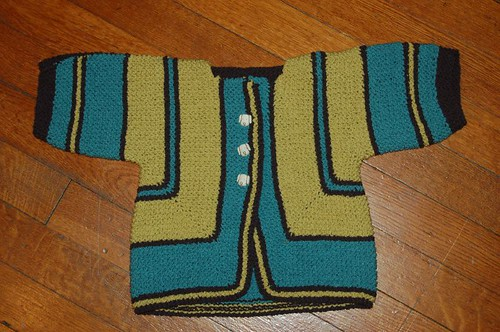 Favorite Pattern: Surprise! It's a Baby Sweater!