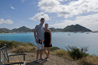 Brad ('05) and Jen ('06) in St. Maarten, Netherland Antilles