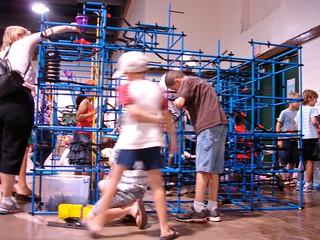Maker Faire NC: Blue Chaos Machine