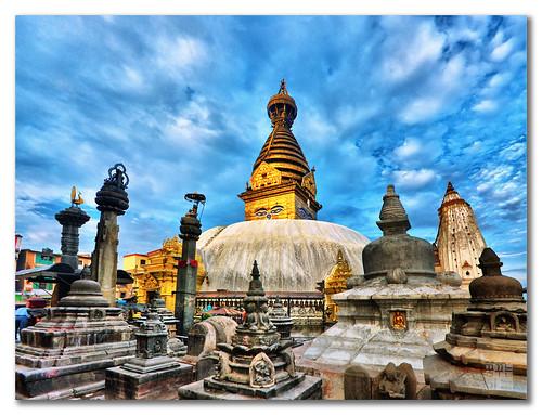 temple et stupas au Nepal