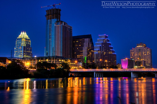 skyline austin reflections downtown texas dusk tx explore cooliris ladybirdlake top20texas bestoftexas