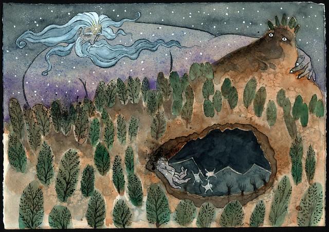 Uranus Greek Mythology Uranus and Gaia No2 | ...