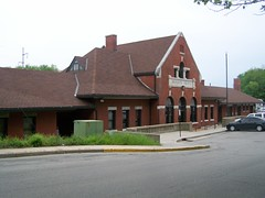 Missouri Pacific RR Depot- Jefferson City MO
