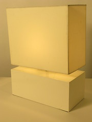 White Lamp Rental - Block Style