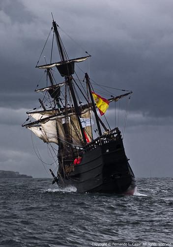 sailing september flc 18200 tallships 2009 santander sailships sal18200 alpha300 youlitooo iifestivaldelmardesantander